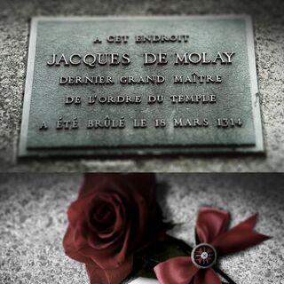 雅克·德·莫莱的墓碑