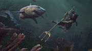 Shark attack - Assassin's Creed Odyssey