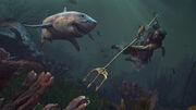 Shark attack - Assassin's Creed Odyssey