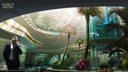 ACIV Abstergo Entertainment Ascenseur concept 2