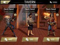ACP Tavern menu