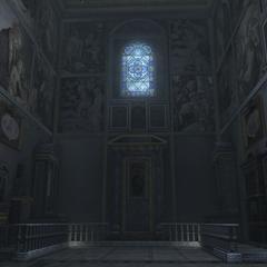 天坛圣母堂的内部
