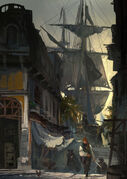 AC4BF Docked - Concept Art