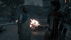 ACOD A Growing Sickness - Hippokrates informing Kassandra