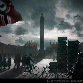 二战期间德军占领下的旺多姆广场