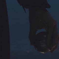 电影结尾处,卡勒姆手持阿吉拉尔的伊甸苹果