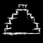 Glyphe-Pyramide à degrès