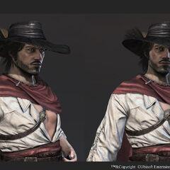 <b>Du Casse</b> coiffé de son chapeau