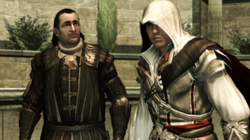 Mario i Ezio w Assassin's Creed II by Kubar906