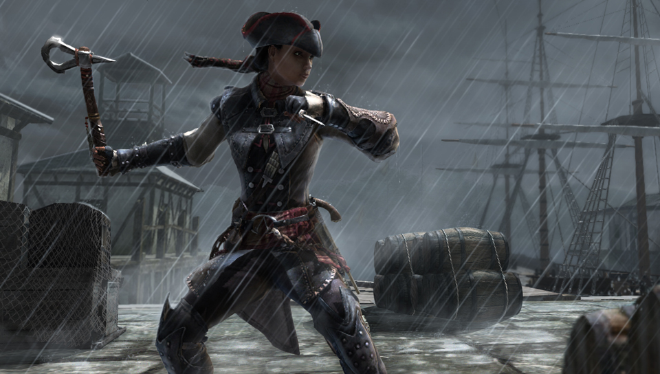 assassins creed 3 tomahawk in game