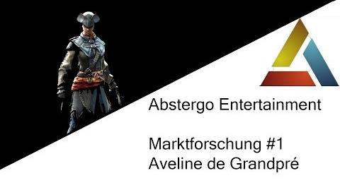 Abstergo Entertainment Marktforschung 1 Aveline de Grandpré