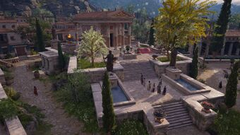 Temple Of Poseidon Argos Assassin S Creed Wiki Fandom