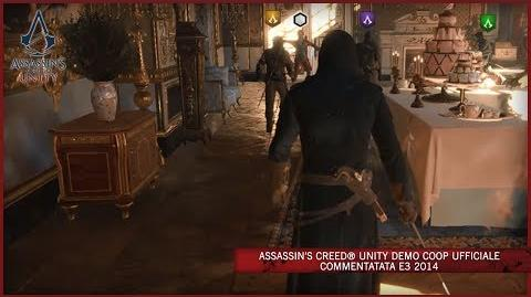 Assassin's Creed Unity Demo Coop Ufficiale Commentatata E3 2014 IT