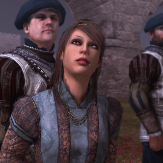 Pantasilea wordt door de Fransen gevangengehouden.