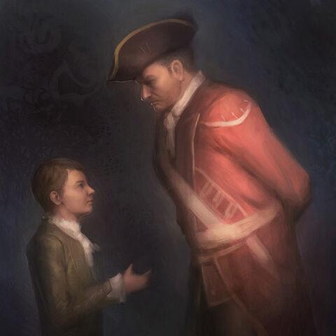 <b>Haytham</b> fait la connaissance d'Edward Braddock