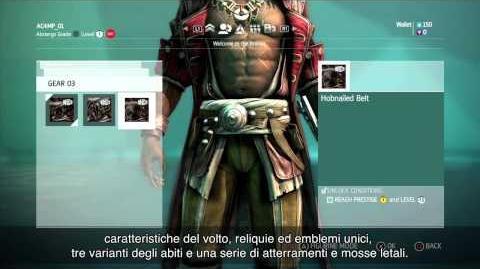 Trailer sulle caratteristiche del Multiplayer Assassin's Creed 4 Black Flag IT