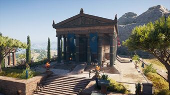 Temple Of Artemis Laphria Assassin S Creed Wiki Fandom