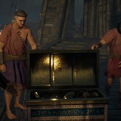 Le cadeau de Cléopâtre à Pompée