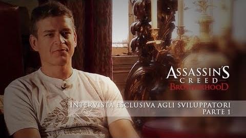 Assassin's Creed Brotherhood - Intervista esclusiva agli sviluppatori - Parte 1