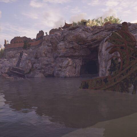 通往要塞的地下通道