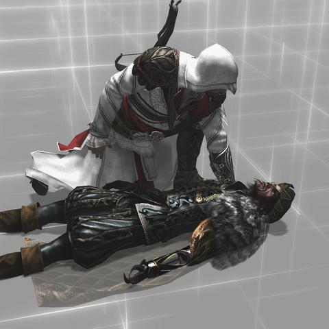Silvestro vlak voor zijn dood