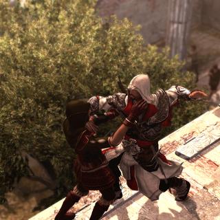 Ezio assassinant Lia de Russo