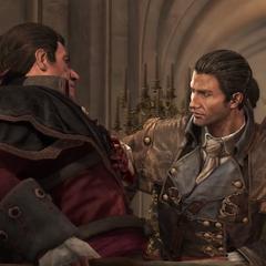 谢伊与夏尔在凡尔赛宫