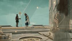 ACOD FoA JoA The Fate of Atlantis - Kassandra and Poseidon part ways