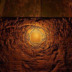 神殿中浮现的形似<a href=
