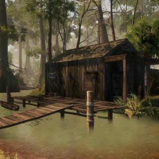恩贡的木屋