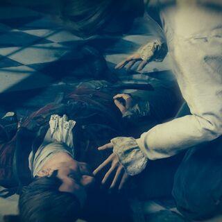 Arno redécouvrant le cadavre de son père