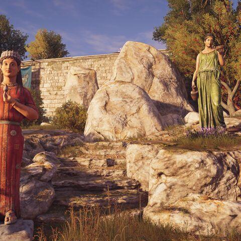 雅典的德墨忒耳与珀耳塞福涅(亦被称作科莱)像