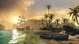 Zachód na Karaibach by VectorPS3