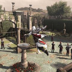 Ezio infiltrant Belriguardo