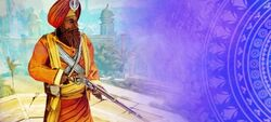 ACCI DB Sikh Rifle Guard
