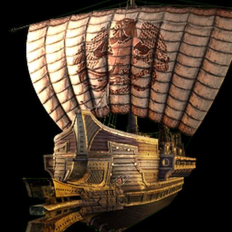 提丰主题的船只外观