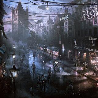 战争期间的伦敦
