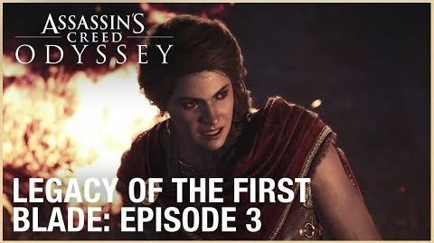 Assassin's Creed Odyssey Legacy of the First Blade Episode 3 Ubisoft NA