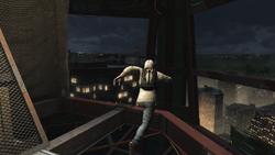 Desmond corsa acrobatica grattacielo Manhattan