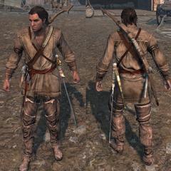 莫霍克人服装