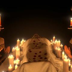 Vision des funérailles de Desmond