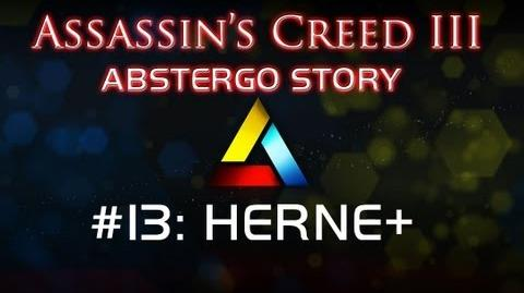 Assassin's Creed III Abstergo Story 13 HERNE Revolution