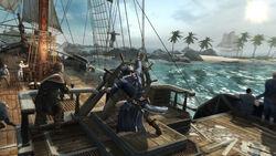 Connor comanda Aquila Caraibi inseguimento