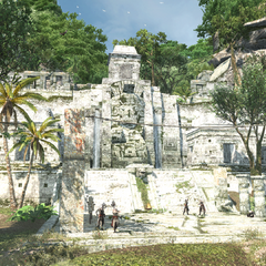 图卢姆的一座玛雅神庙