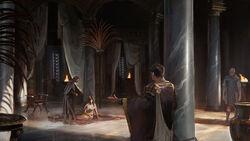 ACO Cleopatra meets Caesar - Concept Art