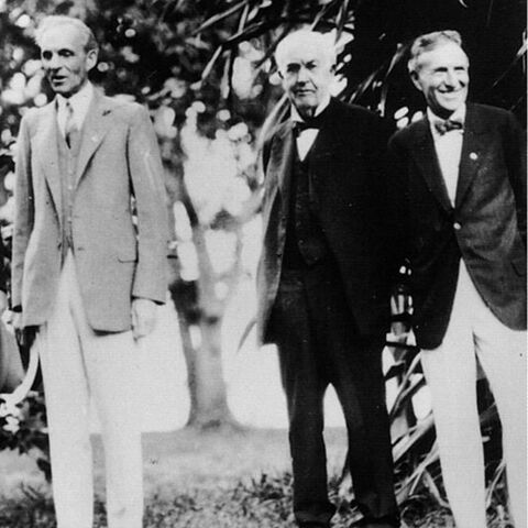 Edison with Ford and Firestone