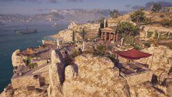 Salamis-TempleofAthenaSkiras