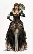 ACU Elise Party Dress - Concept Art