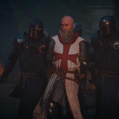Les hommes de Philippe arrêtant Jacques de Molay