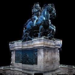 ACU Statue Henri IV BDA